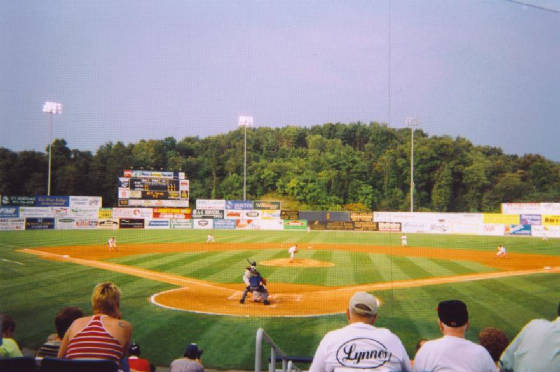 Skylands Park - The field from behind Home Plate
